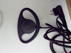 Radio D-Shape Radio Earpiece for Two-way Radio | Over Ear Headset