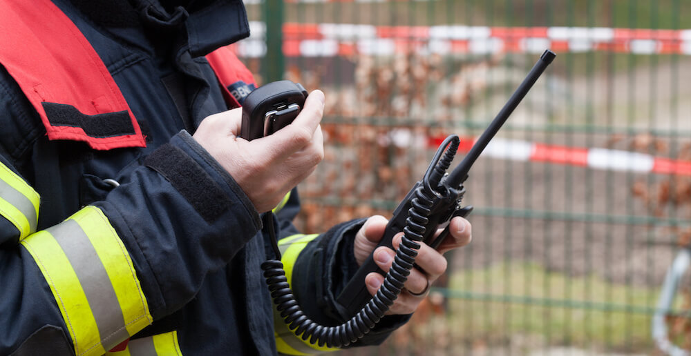 Remote Speaker Microphone for Emergency Services