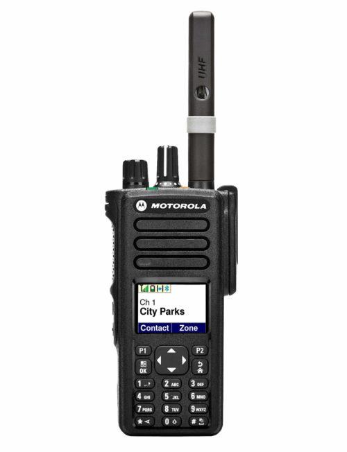 Motorola DP4800 Two-Way Radio Digital Full Display & Keypad