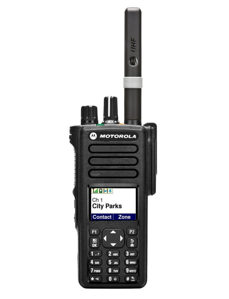 Motorola DP4800 Two-Way Radio Digital Full Display & Keypad