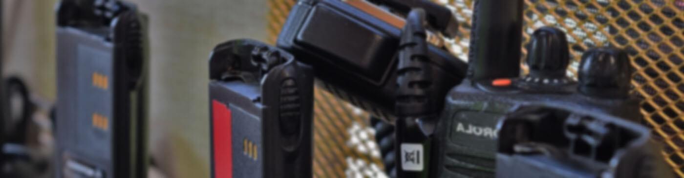 Walkie Talkie Radio Hire Digital & Analogue Shopwatch Two Way Radio